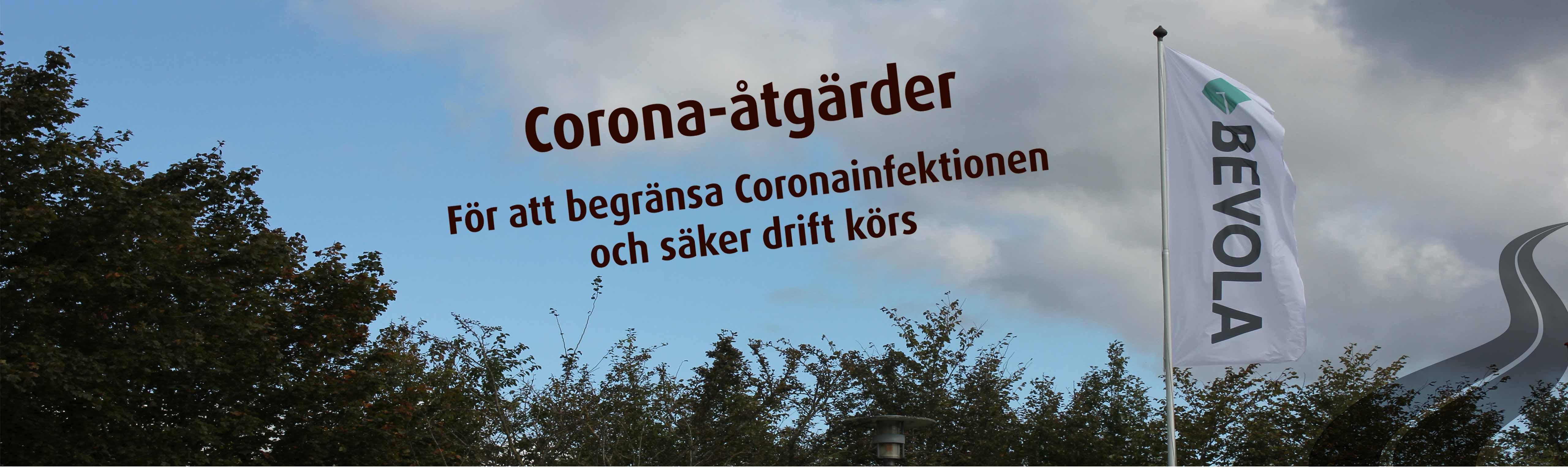Corona-åtgärder